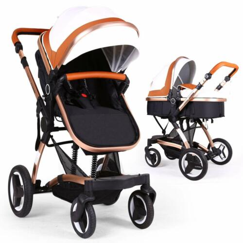 Cynebaby Vista City Select Strollers for Infant Toddler Pram Pushchair (Coffee)