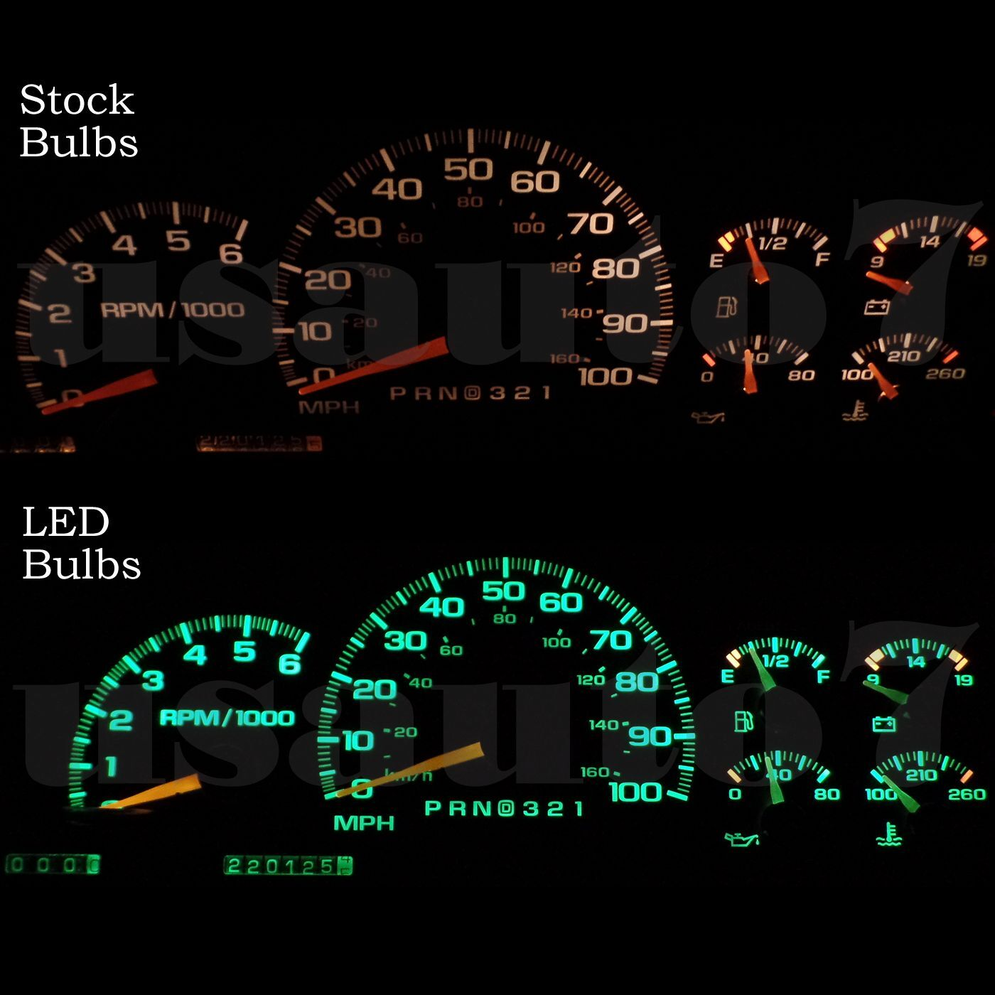 95-98 Chevy Tahoe Dash Speedometer Instrument Cluster