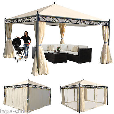pavillon partyzelt gartenzelt garten zelt 3x3 festzelt. Black Bedroom Furniture Sets. Home Design Ideas