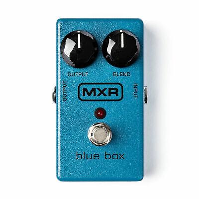 Jim Dunlop MXR Blue Box Octave Fuzz Guitar Effects Pedal JD-M103