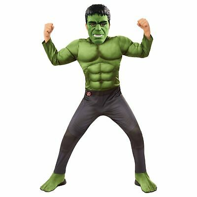 Boy Hulk Costume (Hulk MUSCLE Boys Costume w/ Nano Gauntlet M Child Kids Halloween)