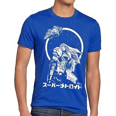 4t Tee (Samus Return Herren T-Shirt metroid nerd gamer nes snes geek switch 3ds prime 4)