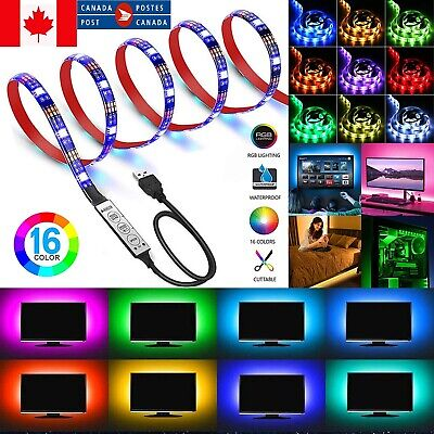 New TV LED Backlights 3M LED Strip Lights with Remote for LED LCD PC Television