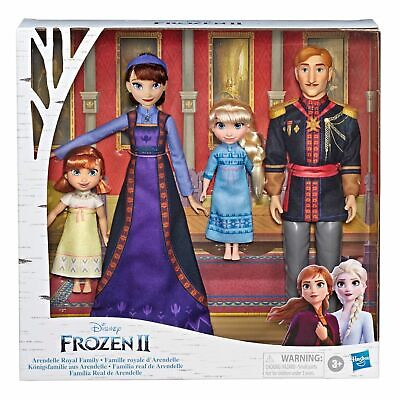Disney FROZEN 2 II Arendelle Royal Family Fashion Doll Set TARGET EXCLUSIVE!!