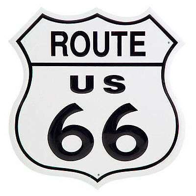 "US Route 66 11"" Shield Tin Sign Man Cave Bar Garage Wall Home Decor Highway Road"