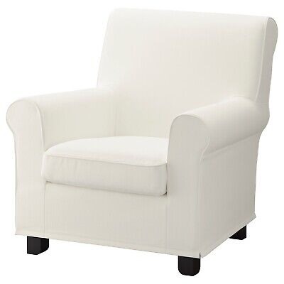 Ikea Gronlid COVER SLIPCOVER FOR Armchair Chair 403.988.90 Inseros White