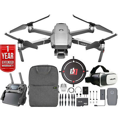 DJI Mavic 2 Pro Drone with Hasselblad Camera Mobile Go Extended Warranty Kit