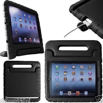 Kinder Griff Gummi schockfest Heavy Duty Ständer Schutzhülle für iPad 2 3 4