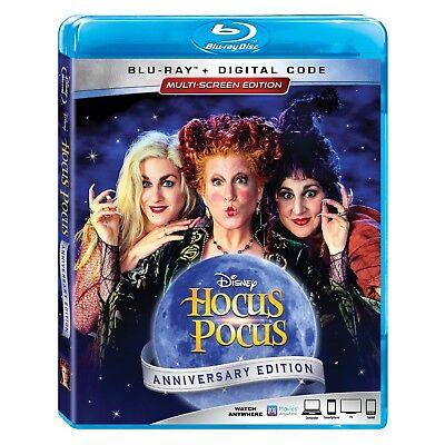 Hocus Pocus (Bette Midler & Sarah Jessica Parker) NEW BLU-RAY + DIGITAL CODE - Halloween Movie Sarah Jessica Parker
