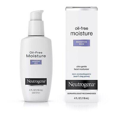 Neutrogena Oil-Free Daily Sensitive Skin Face Moisturizer - 4 fl oz