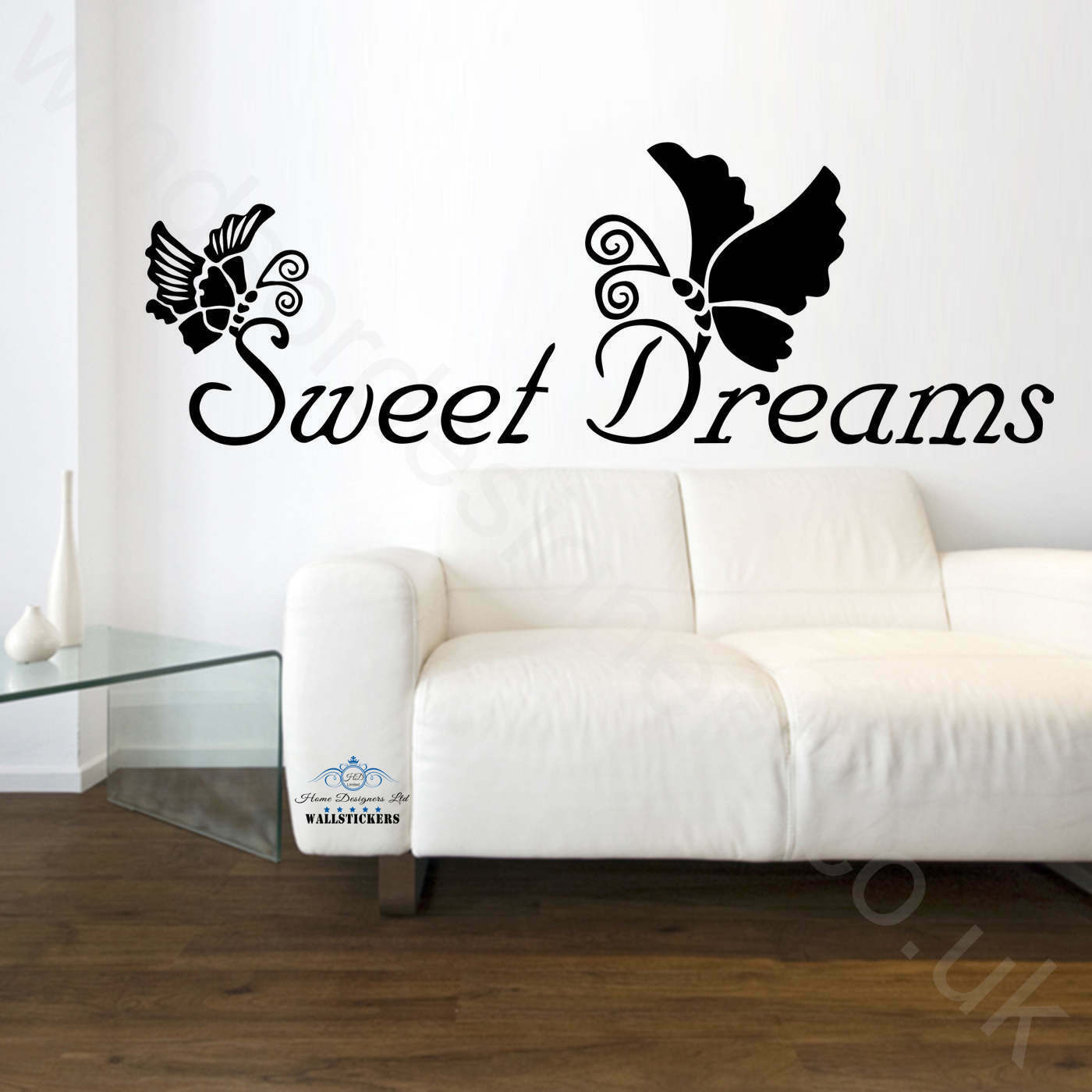 Wall Tattoo Kids : ... Wall Art Quote Sweet Dreams Bedroom Stickers Decals Tattoo Kids Vinyl