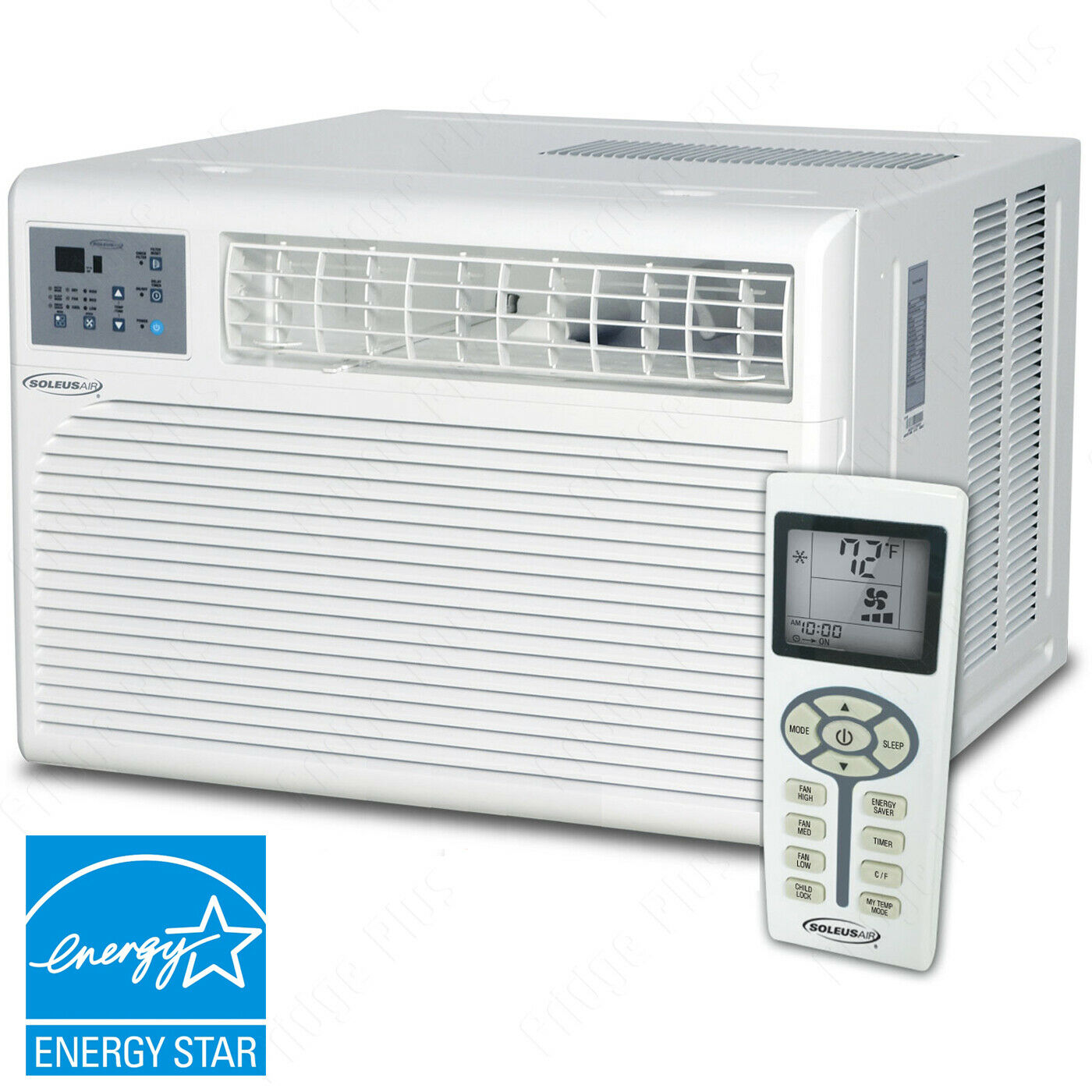 24000 BTU Window Air Conditioner, Large 1500 Sq Ft Room Home