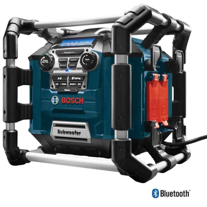 Bosch PB360C Jobsite Radio Charger, Bluetooth
