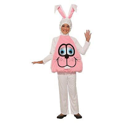 Forum Novelties Kids' Wiggle Eyes Bunny 3 Piece Halloween Costume Small 4-6 ()