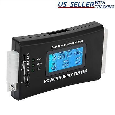 20+4 Pin LCD Power Supply Tester for ATX, ITX, BTX, PCI-E, SATA, HDD