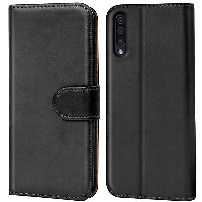 Book Case Samsung Galaxy A50 Hülle Tasche Klapphülle Flip Cover Handy Schutz