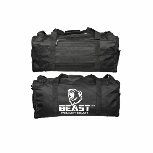 Gym Duffle Bag- Workout, Boxing, MMA, Sports Bag with Shoes Compartment