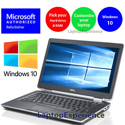 DELL LAPTOP LATITUDE i5 16GB 1TB 512GB SSD HDMI PRO WINDOWS 10 WiFi NOTEBOOK PC