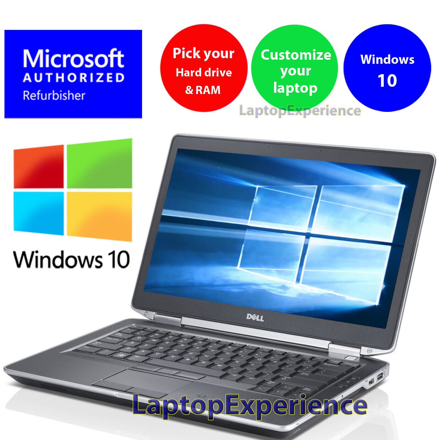 Laptop Windows - DELL LAPTOP LATITUDE i5 16GB 1TB 512GB SSD HDMI PRO WINDOWS 10 WiFi NOTEBOOK PC