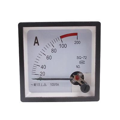 Analog Amp Panel Meter Ac 100a