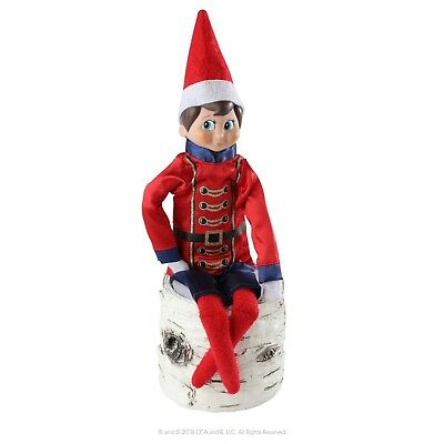 ELF ON THE SHELF SUGAR PLUM SOLDIER CLAUS COUTURE  OUTFIT CLOTHES NO DOLL - Elf On The