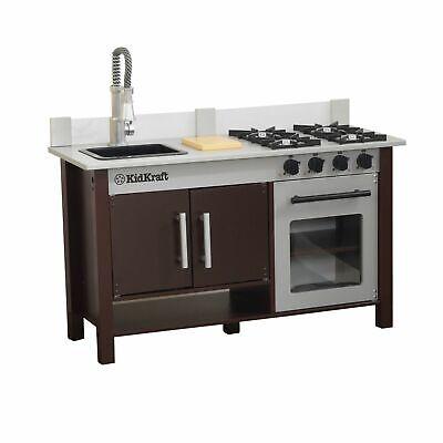 NEW Kid Kraft Tiny Chef's Pro Kitchen Pretend Play Kitchen Stove, Sink