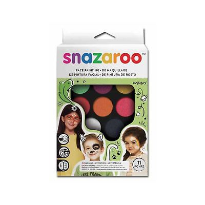 Snazaroo Basic Party Pack Face Paint Kit Halloween Painting Set](Rainbow Face Paint Halloween)