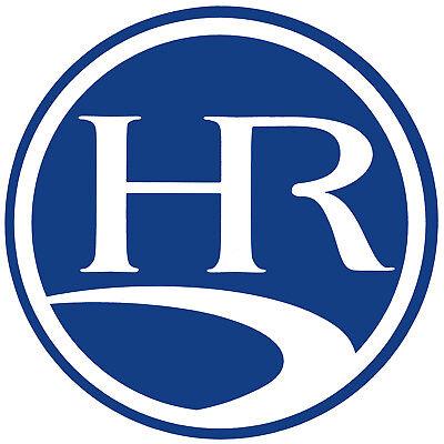 2 RV TRAILER HOLIDAY RAMBLER RV LOGO GRAPHICS DECALS -1903