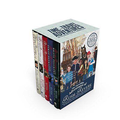- INCREDIBLE ADVENTURES  OF RUSH REVERE 5 HARDBACK BOOKS IN BOXED SET - BRAND NEW