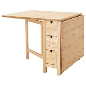 Norden gateleg table birch
