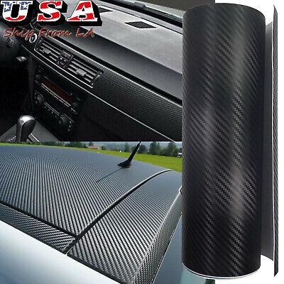 Car Parts - Carbon Fiber Texture Car Interior Exterior Vinyl Decal Sticker Wrap Sheet Decor