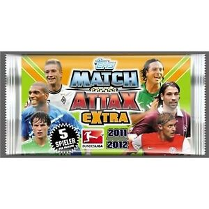 5 Packs Of Topps TO10070 - Topps - Match Attax Extra Booster 2011/2012