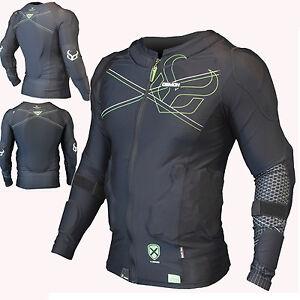 DEMON-S18-Flex-FUERZA-X-Camiseta-D30-SNOWBOARD-proteccion-para-Upper-Cuerpo
