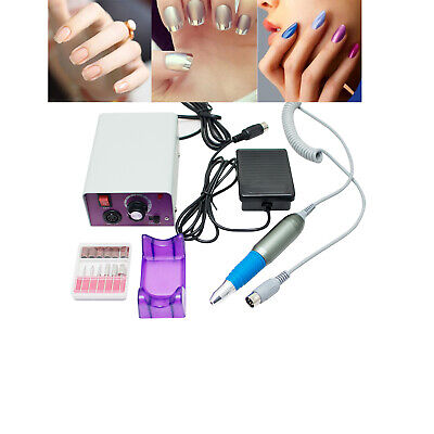 US 110V Best Electric Nails File Drill Kit Machine Manicure Pedicure Solon (Best Electric Nail Drill Machine)