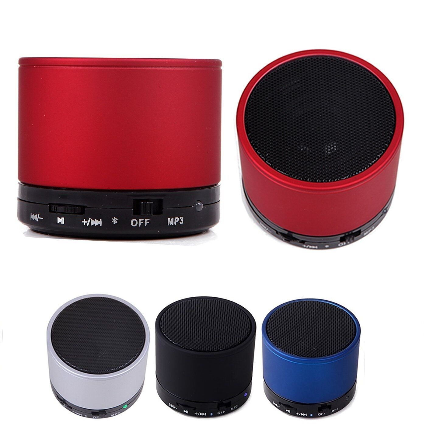 Bluetooth Wireless Speaker Mini SUPER BASS Portable For Smartphone/Tablet/Laptop