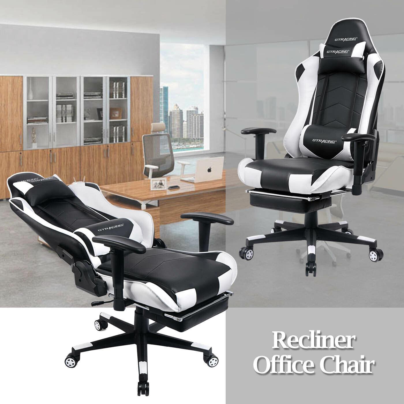 high back ergonomic swivel gaming chair racing