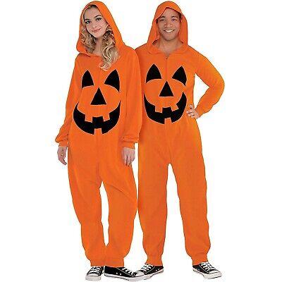 Pumpkin Zipster Damen Erwachsene Halloween Bequem Kostüm