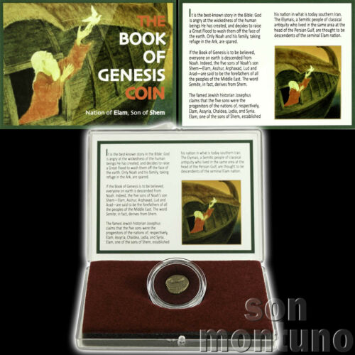 Book Of Genesis Coin - Ancient Biblical Semitic Judaea Elymais Drachm Elam Shem
