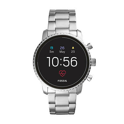 Fossil Q Gen 4 Explorist Silver Touchscreen Smartwatch 45MM FTW4011 SEALED NEW