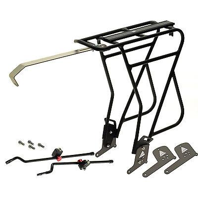NEW Axiom Journey Uni-Fit Mk 3 Rear Alu Pannier Rack for DISK or rim brake bike