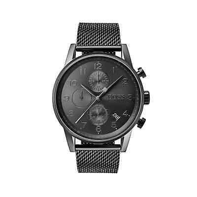 HUGO BOSS® watch Mens NAVIGATOR GQ Edition Chronograph HB 1513674
