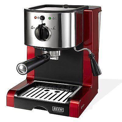 BEEM Germany Espresso Perfect Crema Siebträgermaschine 15 bar NEU+OVP
