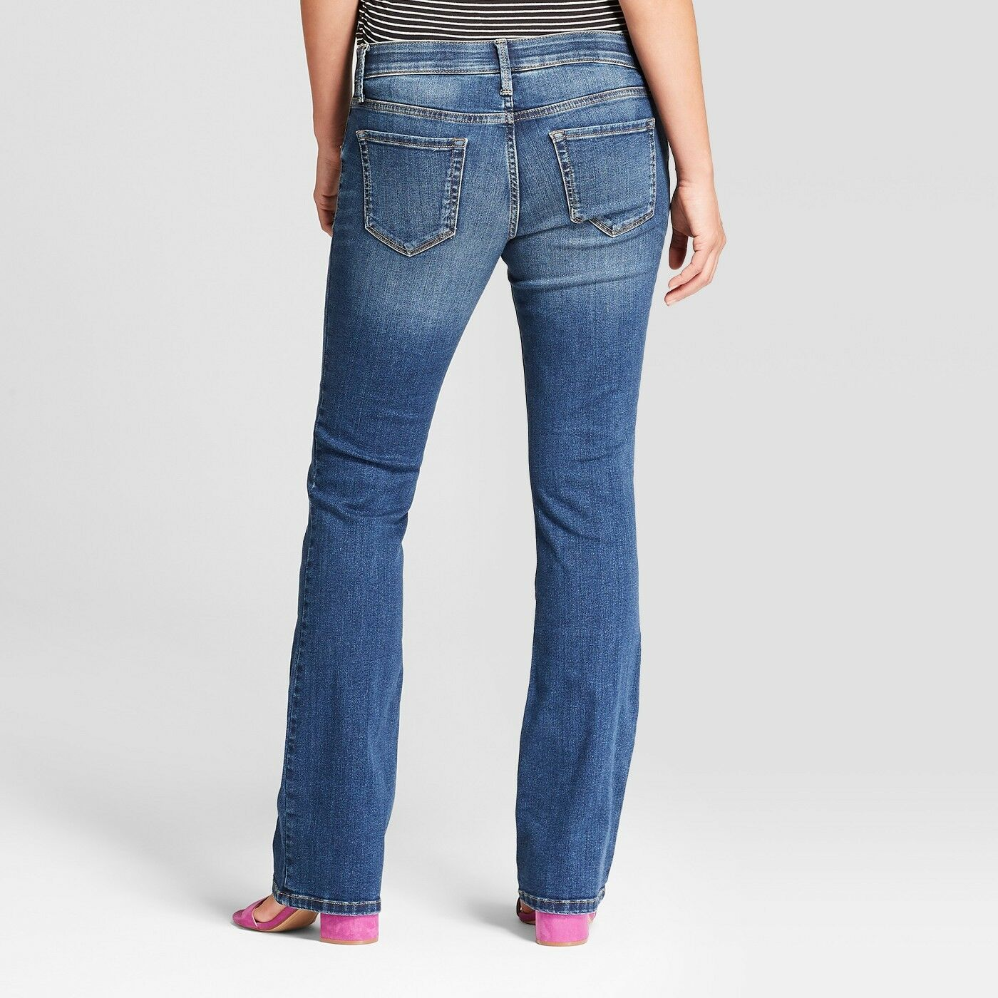12b90dcbd5091 Maternity Inset Panel Bootcut Jeans - Isabel Maternity by Ingrid & Isabe  Dark