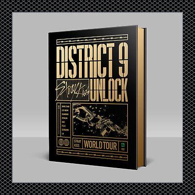 STRAY KIDS World Tour District 9 : Unlock in SEOUL DVD+PO Benefit+Gift+FREE SHIP