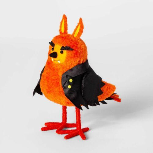 2019 Featherly Friends Clawson Fabric Bird Figurine Target Halloween Hyde & Eek