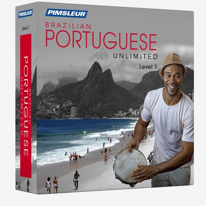 NEW Pimsleur Unlimited PORTUGUESE BRAZILIAN Language Course 30 Lessons