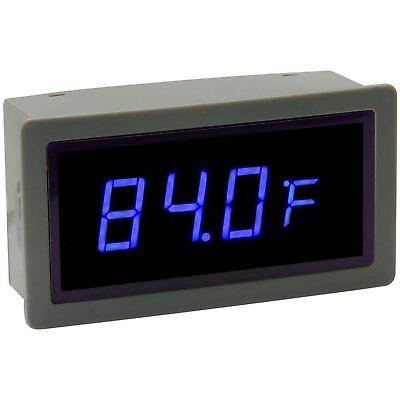 Sure - Me-tm32123 - Blue Led Temperature Display Internal External Sensor