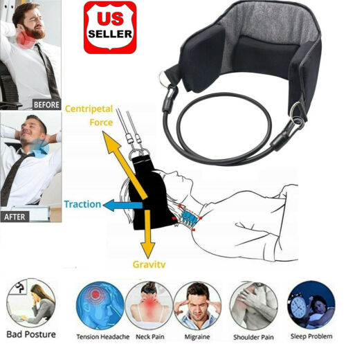 Hammock for Neck Pain Relief Support Massager Cervical Traction Device Stretcher Health & Beauty