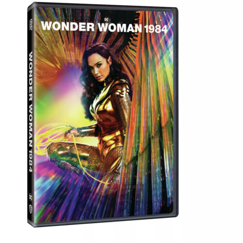 Wonder Woman 1984 -WW84- (DVD, 2020) New & Sealed FREE Shipping!