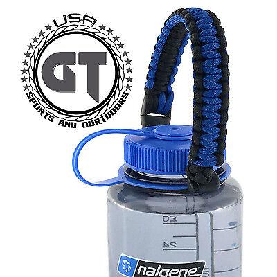 16 Oz Nalgene Water Bottle - Handle Strap for Nalgene 32 oz, 16 oz Wide mouth water bottle, Easy to Carry